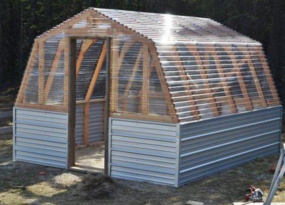 Greenhouse Barn - Craft Like This
