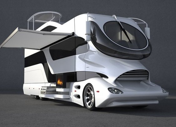 The Most Luxurious Mobile Home Ever From Marchi Mobile
