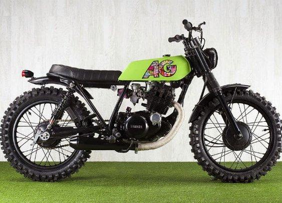 """YAMAHA SR250 1989 """"AG HOC"""""""