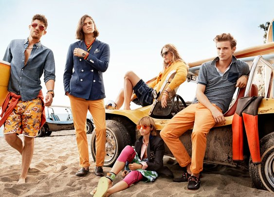 Tommy Hilfiger Launches Spring 2014 Campaign