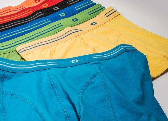 Bright underwear!