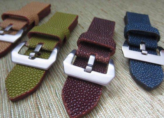 Stingray watch strap. Custom order