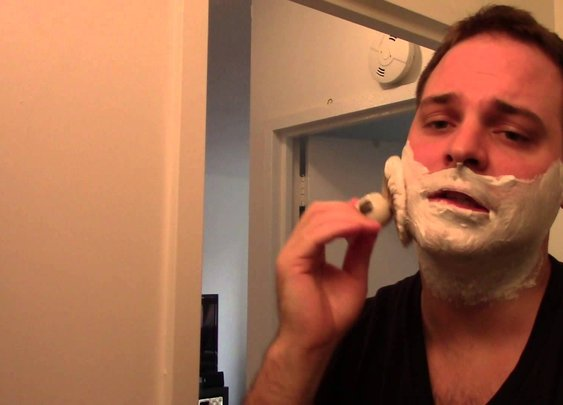 Portland General Store Whiskey Shave Soap Review - YouTube
