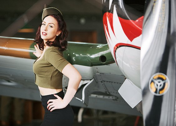 World War II Hot Army Girl | Manly Adventure