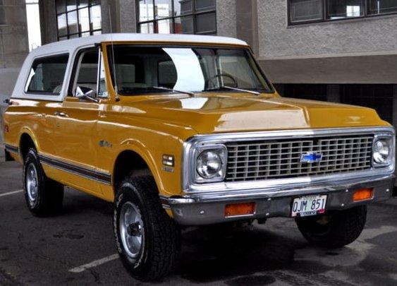 1972 Chevrolet Blazer | Bringatrailer.com