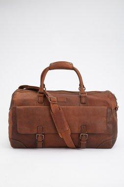Holkham Leather Weekender - The British Belt Company - Bags : Thrillist