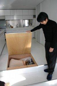 Hidden Storage Under Kitchen Floor | StashVault