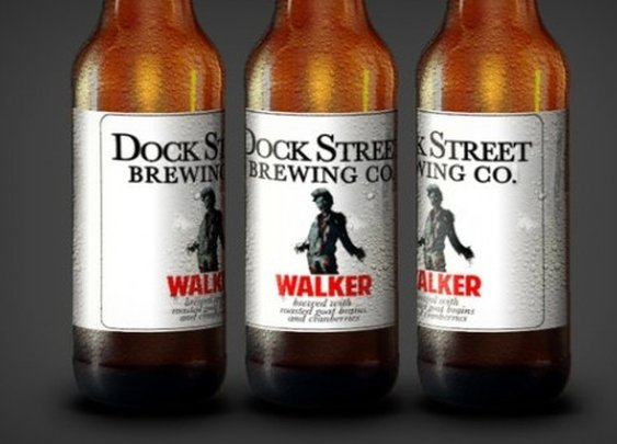 Zombie Beer That's Brewed With... Real Brains