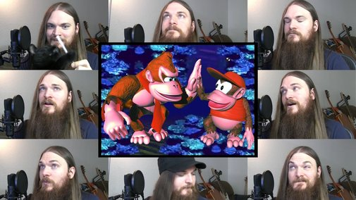 Donkey Kong Country - Aquatic Ambience Acapella - YouTube