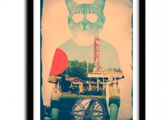 THE CAT by ALI GULEC - artandtoys.com