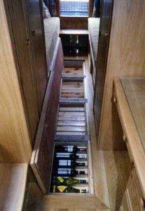 Under Floor Wine Storage in Show Boat | StashVault