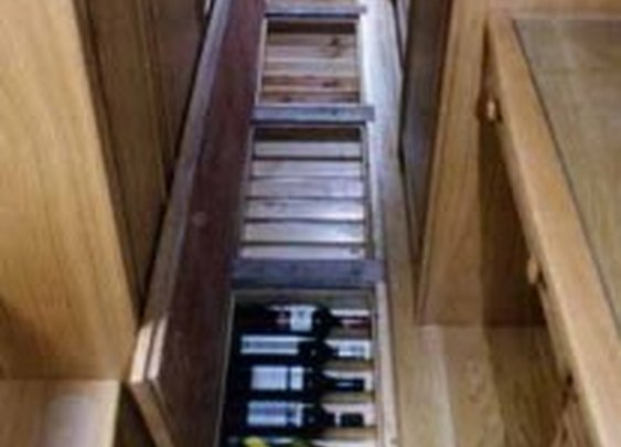 Under Floor Wine Storage in Show Boat | StashVault