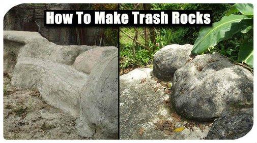 Be Green And Make Trash Rocks - SHTF Preparedness