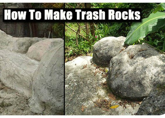 Be Green And Make Trash Rocks - SHTF Preparedness