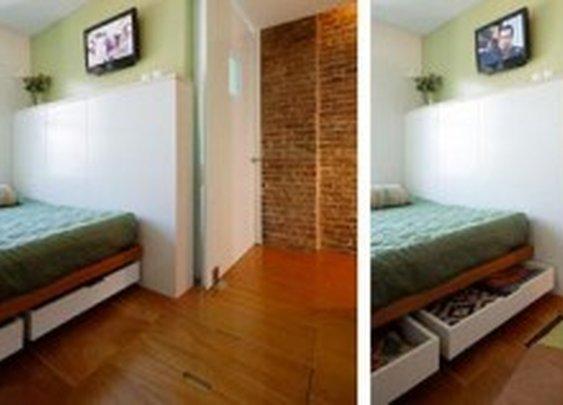 Under Floor Bedroom Linen Storage | StashVault