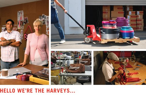 Harvey's Seatbelt Bags (Traveling Goods) Made in the USA