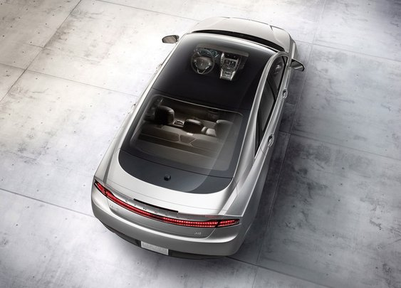 Look Up: The 2014 Lincoln MKZ Offers an Unbeatable View - Springfield Ford Lincoln