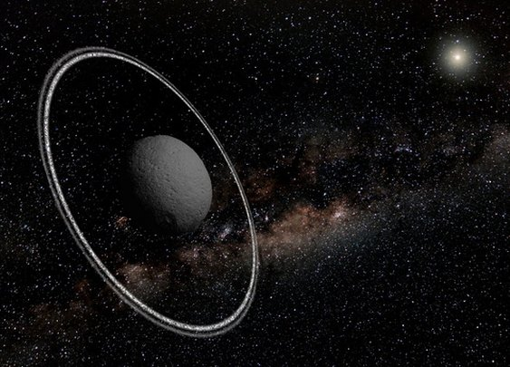 Asteroid Found with Rings! First-of-Its-Kind Discovery Stuns Astronomers (Video, Images) - Yahoo News