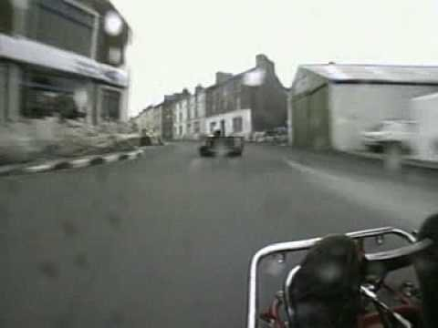 Karting Through The Streets Of The Isle Of Man Is Just Nuts