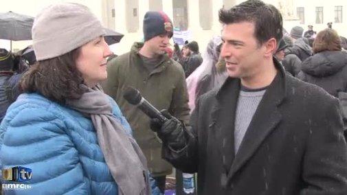 ObamaCare Supporters Explain Hobby Lobby Case | CNS News