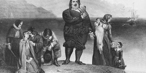 US Obesity Epidemic Traced To Single Heavyset 'Mayflower' Passenger   The Onion - America's Finest News Source