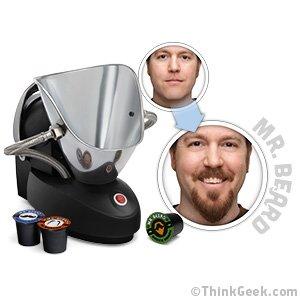ThinkGeek :: Mr. Beard® Beard Machine