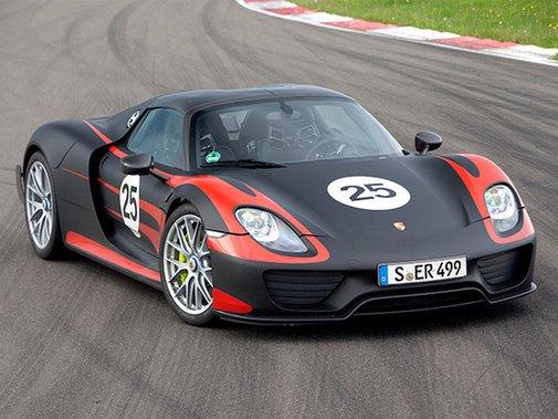 Introducing the Porsche 918 Spyder