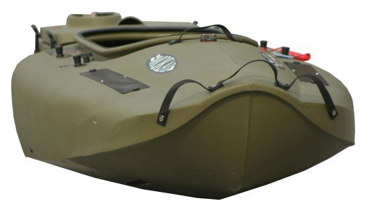 Mokai jet-drive boat breaks down into three nesting pieces for easy transport