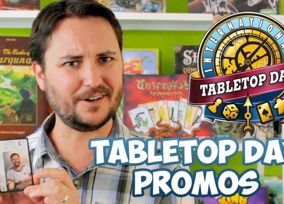 Wil Wheaton Talks International TableTop Day Goodies! - YouTube