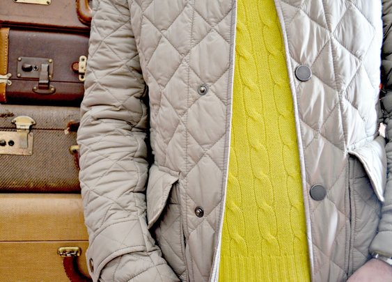 Season Essential: The Quilted Jacket