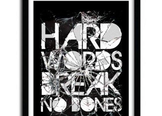 HARD WORDS by Ali Gulec  - artandtoys.com