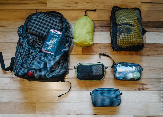 Jeremiah's Around the World Packing List