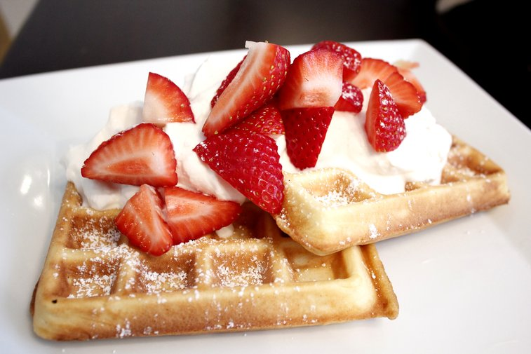 Put some Beer in your Brunch - Budweiser Sourdough Waffles