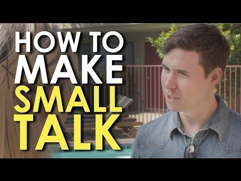 How to Make Small Talk With Strangers [VIDEO] | The Art of Manliness