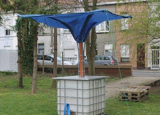 تخزين مياه الشتاء