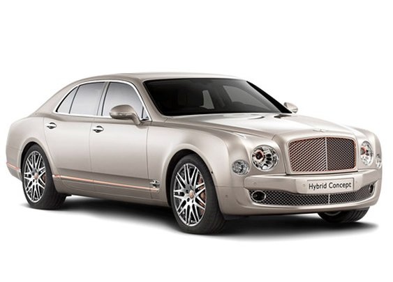 Bentley unveiling plug-in hybrid concept - Apr. 9, 2014
