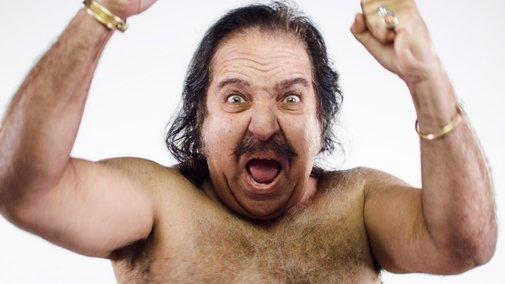 Ron Jeremy on a Wrecking Ball...Distrurbing