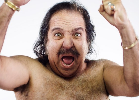 Ron Jeremy on a Wrecking Ball...Distrurbing