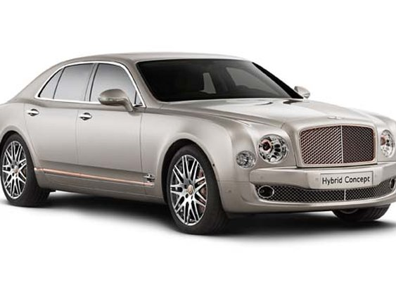 Bentley Goes Green With Hybrid Concept