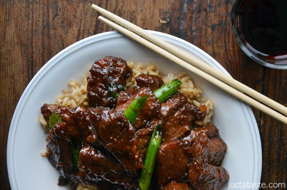30-Minute Mongolian Beef Recipe | Just a Taste