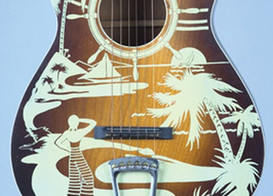 Rocking the art guitars of the 1930s-'50s