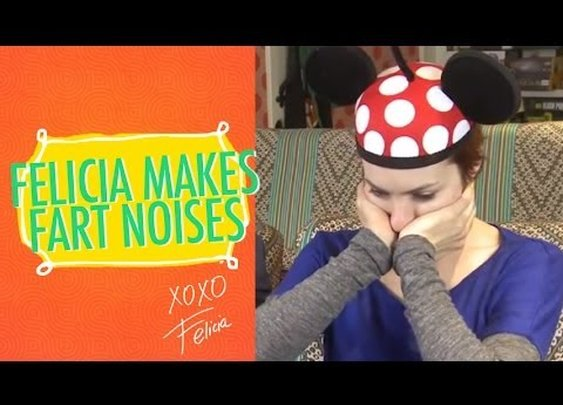 Felicia makes Fart Sounds with her Mouth - YouTube