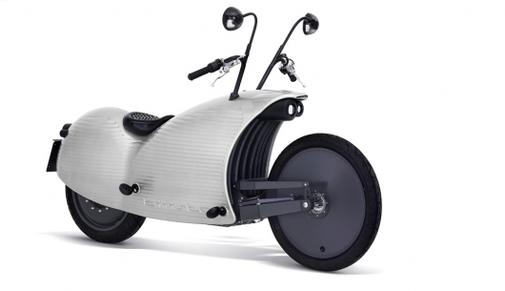Johammer electric motorcycle breaks 200 km range, looks like you're riding a terrified snail