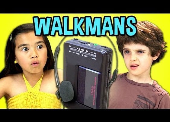 Video: These Kids Don't Know What a Walkman Is