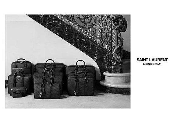 Saint Laurent Introduces Monogram Luggage & Accessories Line
