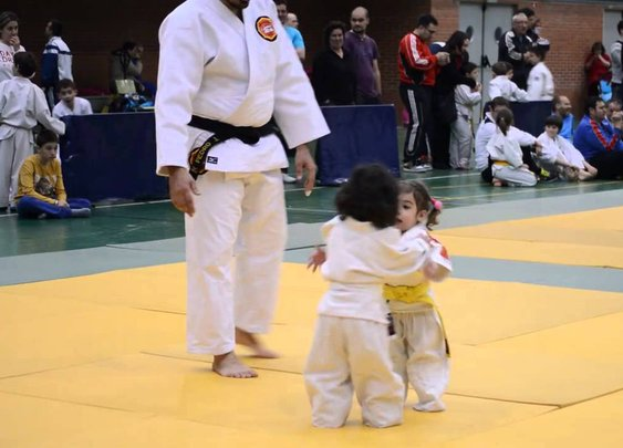 MUST. STOP. THE. CUTENESS! Little Kids Judo
