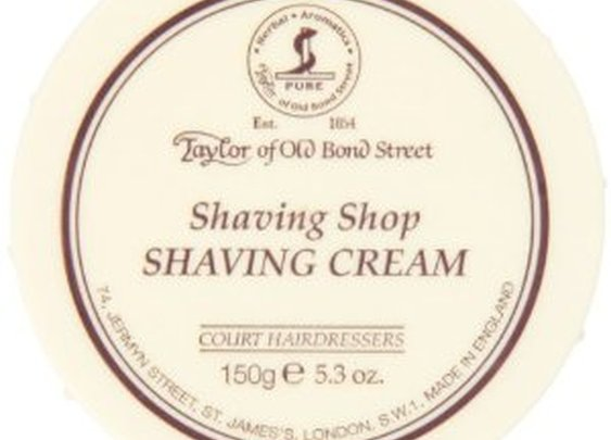 Review of TOBS Shaving Shop shave cream and Custom Shaving - The Unforgettable Man