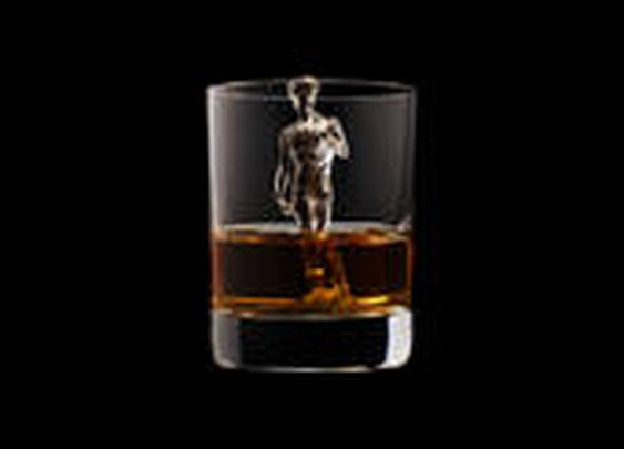 3D-milled ice cubes get brief, beautiful life