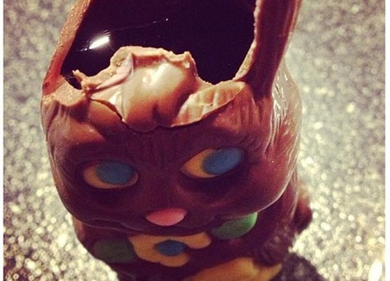 Wine Hack: Lobotomize Peter Cottontail and fill with Port.