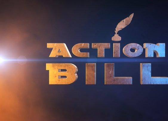 Action Bill - A LEGO Stop Motion Short Film
